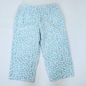 Charter Club Pants - Charter Club Pedalpusher Floral Capris Size 6